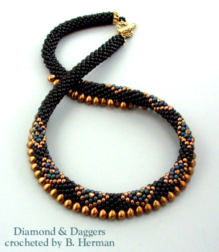 Bead Crochet : Bead Crochet Necklaces
